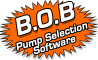 use B.O.B. Pump Selection Software to find the perfect vertical, horizontal, centrifugal, submersible, or other pump for your application